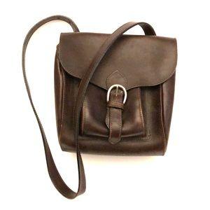 Vintage Toohey Dodge Leather Handbag